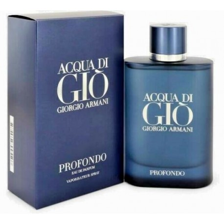 Acqua di Gio PROFONDO Eau de Parfum for men  4.2 oz