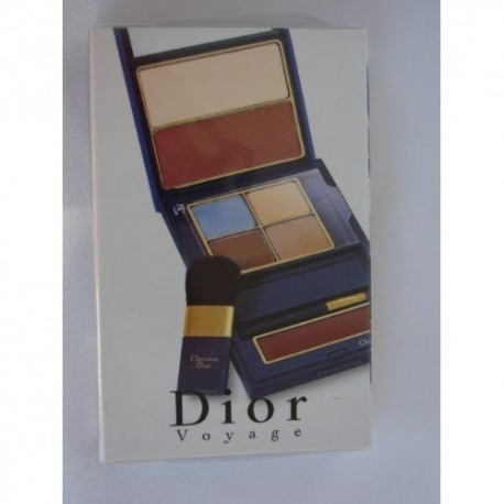 Dior Voyage Makeup Palette Eyeshadow Powder Lipstick
