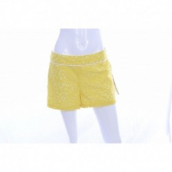 kensie 'Lace Maze' Shorts Sunshine Combo Small Size S