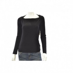Anne Klein Ribbed Sweater Black Size M
