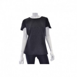 Calvin Klein Embossed Top Black Size L
