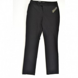 INC Black Extend Tab Career Pants Size M