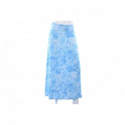 Kensie Bright Blue Printed Maxi Skirt Size M