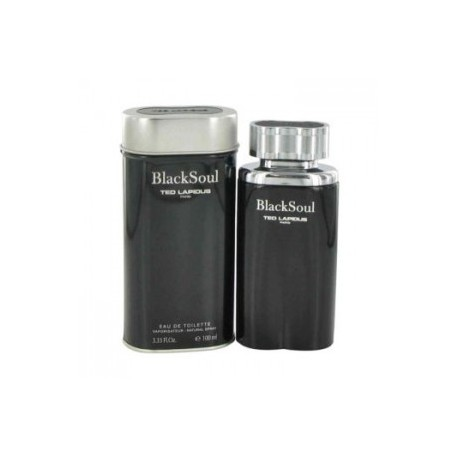 Black Soul by Ted Lapidus Eau de Toilette for men 3.3 oz