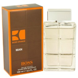 Hugo Boss Orange Eau de Toilette for Men 3.3 oz